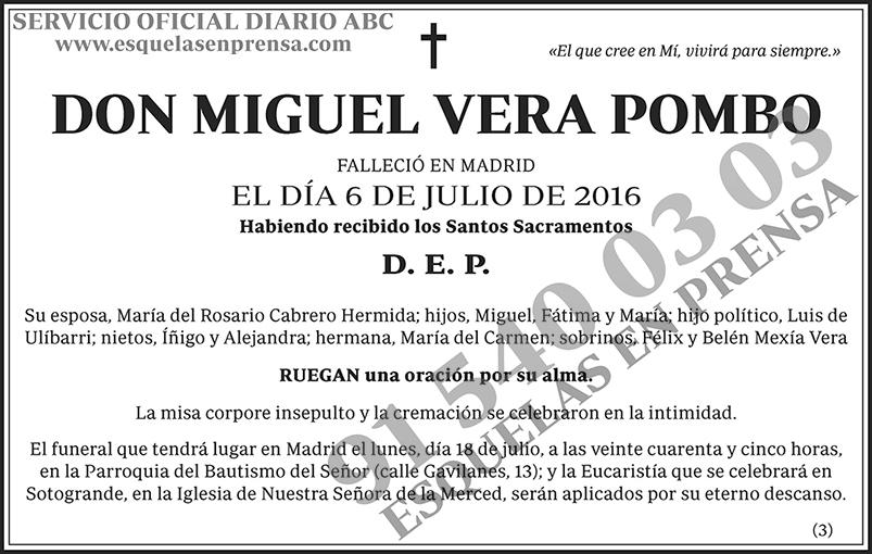 Miguel Vera Pombo